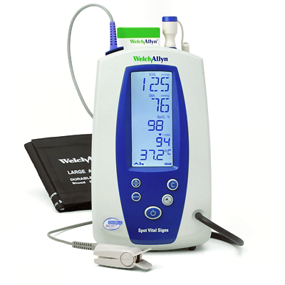 4200b E4 Welch Allyn Spot Vital Signs Device With Bp Only