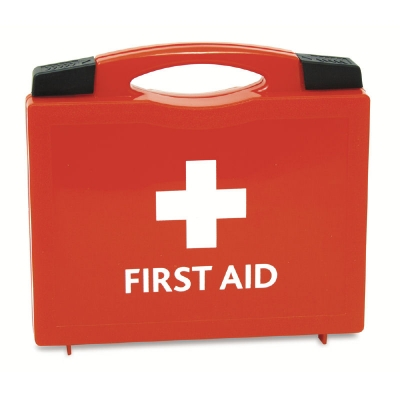 First aid kit box picture