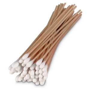 D500 Swab Sticks 6 Inch With Cotton Bud Pack Of 100