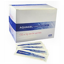 Aquagel Lubricating Jelly 5g X 150 Sachets
