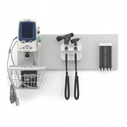 Welch Allyn Green Series 777 Integrated Elite Wall System with LED Bulbs Opthalm/OtoScopes Aneroid BP & Cuff and Specular Dispenser
