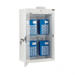 Sunflower Medicine Cabinet with 2 MDS Rack & 1 Door, with Light (Sun-MC3/WL/MDS2)