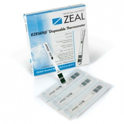 ZEAL EZEtemp Disposable Thermometer, Box of 100 (M4810)