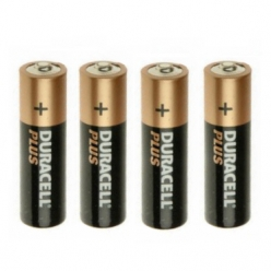 Duracell Plus AA Batteries 1.5V Alkaline (Pack of 4) (MN1500)