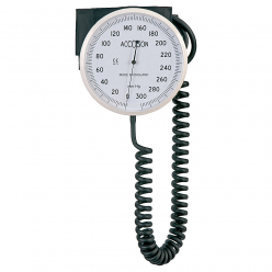Accoson 6 inch Aneroid Sphygmomanometer Wall Model with Wide Range Velcro Cuff (0349)