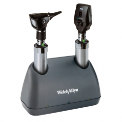 Welch Allyn Elite Desk Set with 2 NiCad Handles (71824)