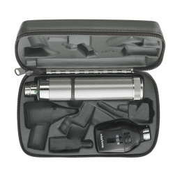 Welch Allyn Coaxial Ophthalmoscope Set with C-Cell Battery Handle (11772-BI)