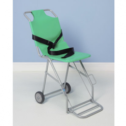 Sidhil Transit Chair with Two Rear Wheels and Footrest (TRA02)