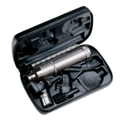 Welch Allyn Diagnostic Otoscope Set 3.5V with Throat Illuminator, Rechargeable Handle & Hard Case (25284-VSM)