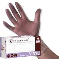 Healthline Vinyl Gloves N/S P/F Clear Small (Box of 100) (GL6211)