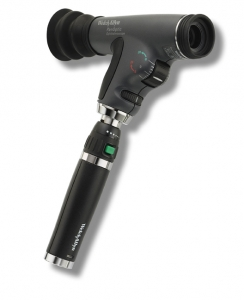 Welch Allyn PanOptic Ophthalmoscope Head 3.5V with Blue Filter & Corneal Lens (11820-CE)