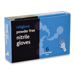 Reliance Nitrile Gloves 6 Pairs (for BS8599-1 Kit) (RL947)