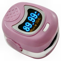 Daray V406 Paediatric Finger Pulse Oximeter, Rechargeable - Pink (V406P)