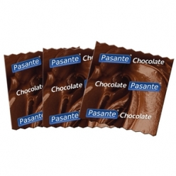 Pasante Flavoured Condoms, Chocolate, Polybag of 144 (C4066)