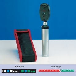 Heine K180 Ophthalmoscope 2.5V, Battery Handle, Soft Case (C-182.10.118)
