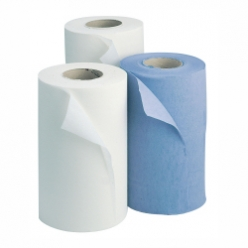 Essentials Wiper Rolls Recycled 2 Ply 10� White (18 Per Case) (H2W240)