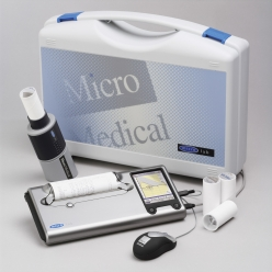 Micro Medical MicroLab MK8S Spirometer with Gold Standard Turbine and Spirometery PC Software (ML3500S)