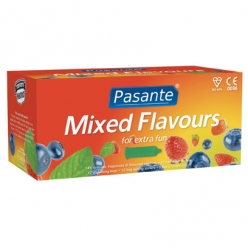 Pasante Mixed Flavours Condoms, Clinic Pack of 144 (C4005)