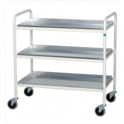 Sidhil Newark Trolley with 3 Aluminium Removable Shelves (1557)