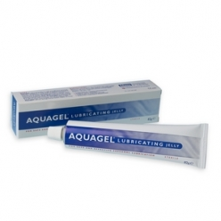 AquaGel Lubricating Jelly 42g Tube (Pack of 12)