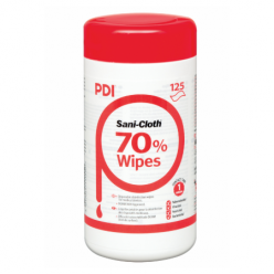 Sani-Cloth 70% Alcohol Wipes Tub of 125 (XP00142)-- OUT OF STOCK**
