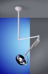 Brandon Coolview XM Examination Light, Ceiling Mount for 2900-3100mm Room Heights (CVXM-CA)