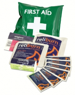 Reliburn Mini Burns First Aid Kit in Vinyl Pouch (RL141)