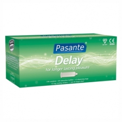 Pasante Delay Condoms, Clinic Pack of 144 (C4040)