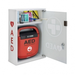 Zoll AED Plus Fully Automated Defibrillator with Cabinet **BUNDLE OFFER**