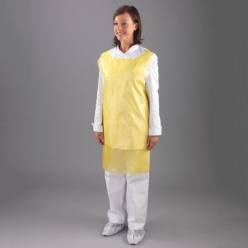 FineTouch Polythene Aprons, Yellow (Roll of 200) (A1Y/R)