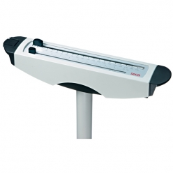 Seca 709 Mechanical Column Scales with Waist-level Sliding Weights