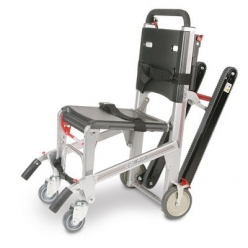 Ferno 59T Ez Glide Evacuation Chair with 4 Point Restraint, IV Pole & Folding Handles (073132900/4P)
