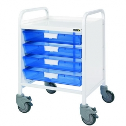 Sunflower Vista 20 Trolley with 4 Blue Trays (Sun-MPT7B)