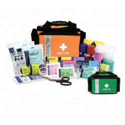 Reliance Relisport Stadium First Aid Kit In Small Orange Pursuit Pro Bag (RL2351)