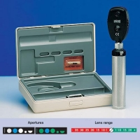 Heine Beta 200 Ophthalmoscope 2.5V, Battery Handle, Hard Case (C-144.10.118)