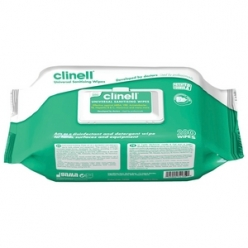 Clinell Universal Sanitising Wipes, 220mm x 280mm (Pack of 200) (CW200)