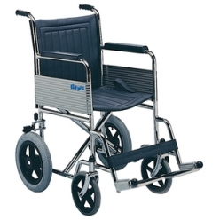 Days Basic Steel Transit Wheelchair, Foldable (138)
