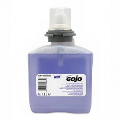 GOJO Premium Foam Hand Wash with Skin Conditioner 1200ml Cartridge for TFX Dispenser (Pack of 2)(5361-02)
