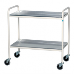 Sidhil Grantham Trolley with 2 Aluminium Removable Shelves (1556)