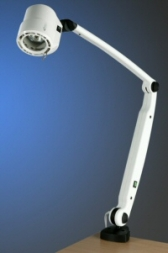 Brandon Coolview C50 Examination Light, Spring-Balanced Arm, Desk Mount (C50FXDP)