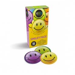 EXS Smiley Condoms x 6 (Pack of 24) (EXSTEXT6)