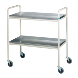 Sidhil Retford Trolley with 3 Aluminium Removable Shelves (1507/A)