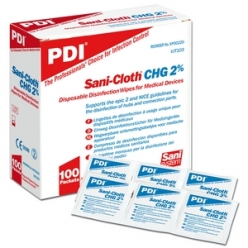 Sani-Cloth CHG 2% Medical Device Wipes (Box of 100) (XP00220)